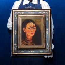 Už F. Kahlo autoportretą aukcionas tikisi 30 mln. dolerių
