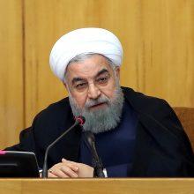 """Irano prezidentas: Vakarų demokratija yra """"trapi ir pažeidžiama"""""""
