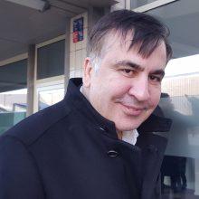 M. Saakašvilis ragina Europos šalis paskelbti sankcijas Ukrainai