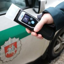 Per savaitę sostinėje įkliuvo 20 neblaivių vairuotojų