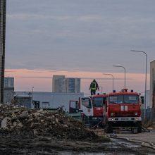 Dėl Alytaus gaisro poveikio ketinama tirti dar per 300 gyventojų sveikatą