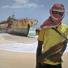 Išlaisvinti aštuoni prie Benino krantų pagrobti jūrininkai