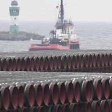 """Rusija siunčia kitą laivą """"Nord Stream 2"""" tiesimui užbaigti"""