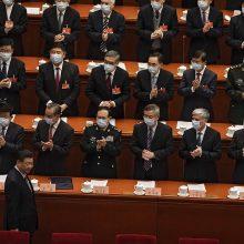 Kinijos parlamentas svarstys Honkongo rinkimų sistemos reformą