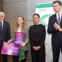 Apdovanoti Nacionalinio ekonomikos egzamino nugalėtojai