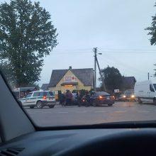 """Avarija Garliavoje: susidūrė BMW ir """"Audi"""""""