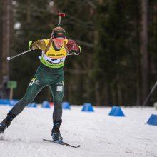 Pasaulio biatlono taurė: karjeros rekordą užfiksavo L. Banys, du lietuviai pateko į persekiojimą