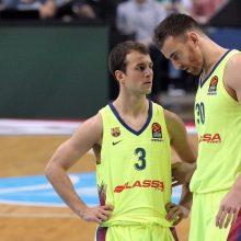 R. Kurtinaičio auklėtiniai pralaimėjo Barselonos krepšininkams