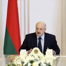 A. Lukašenka mano buvęs specialiai užkrėstas koronavirusu