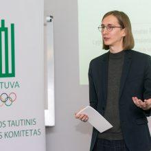 Žurnalistams pristatytos adaptuotos TOK sportininkų vaizdavimo žiniasklaidoje gairės
