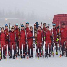 Lietuvos biatlonininkai pasaulio čempionato estafetėje liko 24-i