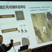 Kinija: iš Mėnulio atgabentos uolienos suteikia naujų žinių apie vulkaninę veiklą