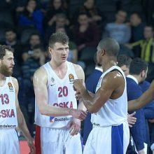 CSKA krepšininkai – per žingsnį nuo Eurolygos finalo ketverto