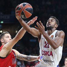 CSKA krepšininkai tęsia pergalingą žygį Eurolygoje