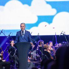 Prezidentas dalyvavo Mokytojų dienai skirtame koncerte