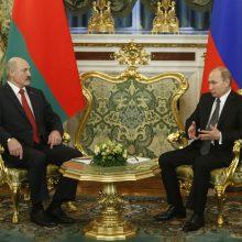 V. Putinas: Rusija neturi planų susijungti su Baltarusija