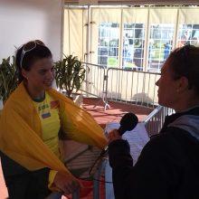 Europos čempionė D. Dzindzaletaitė: buvau išalkusi medalio
