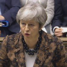 """JK vyriausybė siekia kitą savaitę užbaigti """"Brexit"""" derybas su opozicija"""