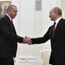 Turkija ir Rusija susitarė, kad Sirijos Idlibe bus nutraukta ugnis