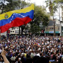 Venesueloje per protesto akcijas jau žuvo mažiausiai 35 žmonės