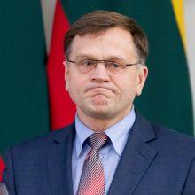 Seimo komisija nusprendė: apie teismų klanus kalbėjęs B. Matelis etikos nepažeidė