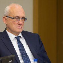 Premjeras: S. Jakeliūno komitetas artėja prie krizės kaltininkų