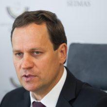 V. Tomaševkis prakalbo apie teisinę atsakomybę prezidento patarėjams