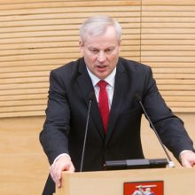 Rinkimus pralaimėjęs M. Bastys: išėjau pakelta galva