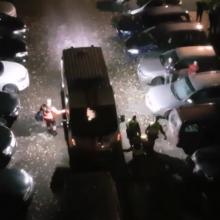 Policija P. Lukšio gatvės name sulaikė ir medikams perdavė vyrą