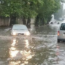 Vilniuje ketvirtadienį iškrito beveik pusė rugpjūčio mėnesio kritulių normos