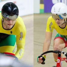 Metų dviratininkai – O. Baleišytė ir V. Lendelis