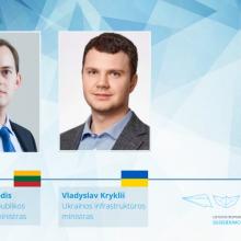 Stiprins Lietuvos ir Ukrainos bendradarbiavimą gabenant krovinius geležinkeliu