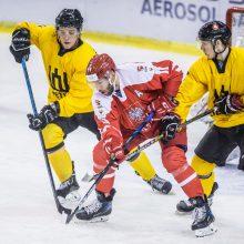 Be prošvaisčių: Lietuvos ledo ritulininkus nušlavė Lenkija