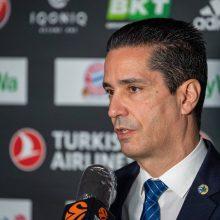 """Prieš dvikovą """"Maccabi"""" strategas nenuvertino """"Žalgirio"""": varžovai turi labai patyrusių žaidėjų"""