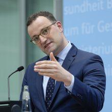 Vokietija tikisi rugpjūtį pradėti skiepyti nuo COVID-19 12 metų ir vyresnius paauglius