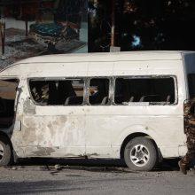 Afganistanas: per talibų ataką žuvo mažiausiai 10 saugumo pajėgų pareigūnų