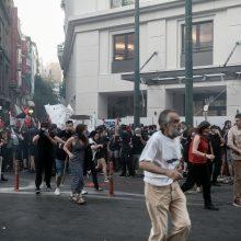 Graikijoje vyko protestai prieš griežtinamas demonstracijų organizavimo taisykles