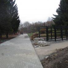 Kaunietis: laukiam nesulaukiam Draugystės parko rekonstrukcijos pabaigos