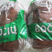Pabrangus grūdams, brangs ir duona