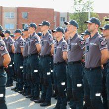 Lietuvos policijos mokyklos bendruomenė iškilmingai paminėjo mokslo metų pradžią