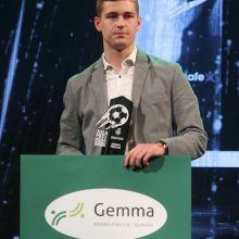 Geriausias Lietuvos futbolininkas A. Novikovas: viską parodžiau geru žaidimu