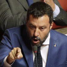 Italija atidėjo diskusijas dėl vyriausybės ateities iki rugpjūčio 20-osios