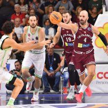 """""""Lietkabelio"""" krepšininkai Čempionų lygos starte patyrė dramatišką nesėkmę"""