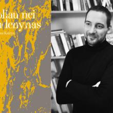 """N. Kairys Kaune pristatys pirmąjį savo romaną """"Toliau nei vandenynas"""""""