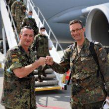 Vadovavimą NATO priešakinių pajėgų batalionui perėmė H. Ruppeltas