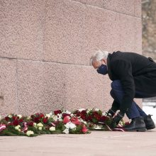 Latvija paminėjo 30-ąsias kruvino sovietų puolimo metines