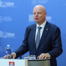 Premjeras: jeigu situacija Seime nesikeis, vienintelė išeitis – pirmalaikiai rinkimai