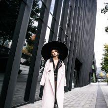 Naujausioje kolekcijoje dizainerė L. Dailidėnienė apžvelgė savo 20-ies metų kūrybą