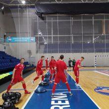 Paskelbta gautinė salės futbolo rinktinės sudėtis Europos čempionato atrankai