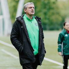 Ž. Grudzinskas apie debiutą UEFA Jaunimo lygoje: laukia labai sunkios rungtynės